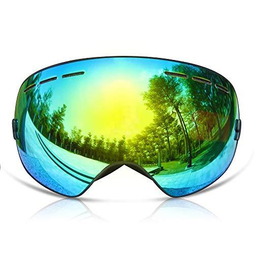 GANZTON Skibrille Snowboard Brille Doppel-Objektiv