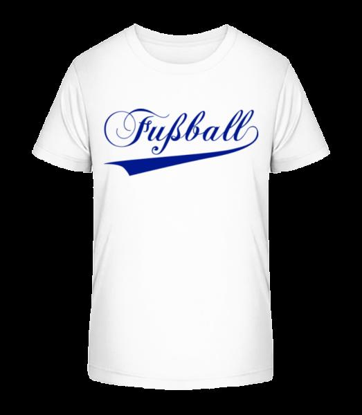 Fussball Schriftzug · Kinder Premium Bio T-Shirt