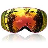Skibrille Kinder, eDriveTech Ski Snowboard Brille  Alter 3 -15