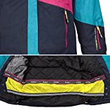 Skianzug Frauen Damenskianzug Skijacke Acelya azur + Skihose Hila grau Gr. 40 - 5