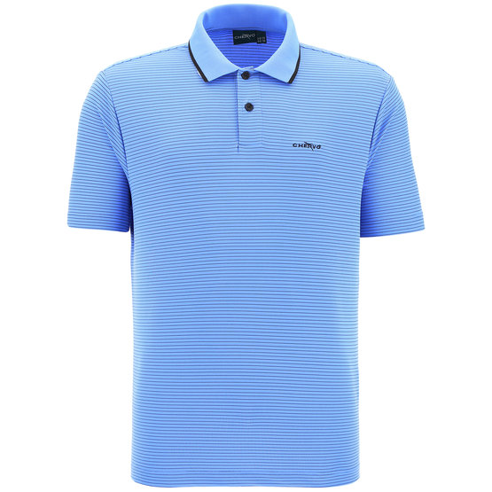 Chervo Asperula Halbarm Polo blau