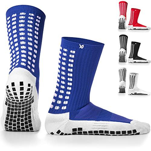 LUX rutschfeste Sport Socken, Gummi-Pads