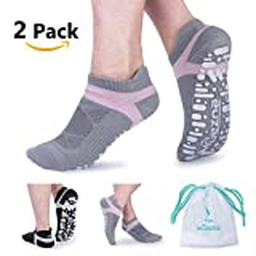 Yoga Socken, rutschfest, atmungsaktiv, Baumwolle