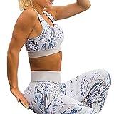 Yoga Set, Komfort Damen Sport BH und Jogginghose
