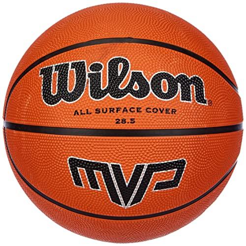 Wilson Outdoor-Basketball, Größe 7, ab 12 Jahre, MVP, Braun