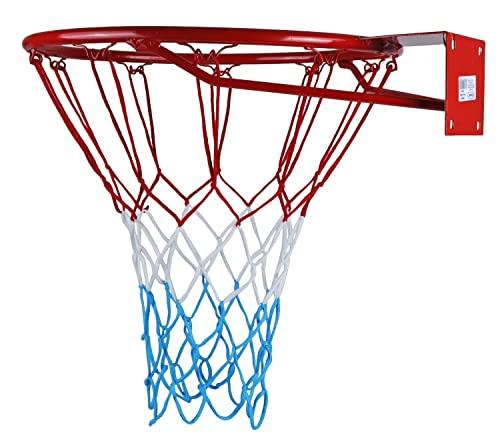 KIMET HangRing Basketballkorb mit Ring und Netz