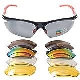 Signstek Outdoor Sport Sonnenbrille mit austauschbaren Linsen