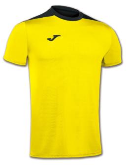 Joma Spike Volleyball Trikot Kurzarm gelb-schwarz Kinder