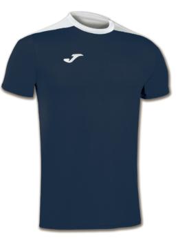 Joma Spike Volleyball Trikot Kurzarm navy blau-weiß Kinder