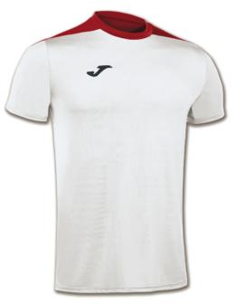 Joma Spike Volleyball Trikot Kurzarm weiß-rot