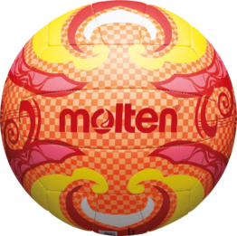 Molten V5B1502-O Beachvolleyball Freizeitball orange-gelb-pink
