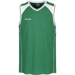 Spalding Crossover Tank Top grün Basketball Trikot