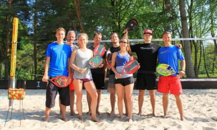 Zu Gast in Rostock: Beach-Tennis-Ass Tobi Notter