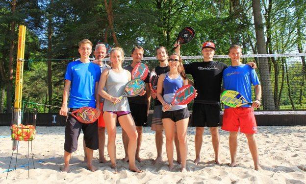 Zu Gast in Rostock: Beach-Tennis-Ass Tobi Notter