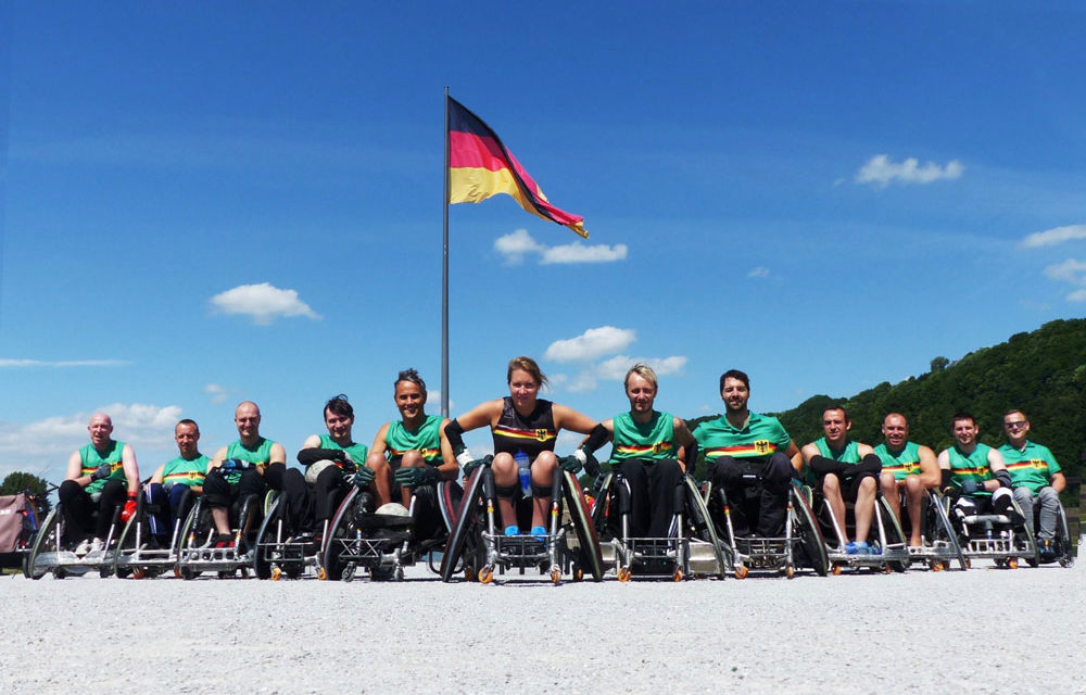 Packende Duelle bei der Heim-EM im Rollstuhlrugby