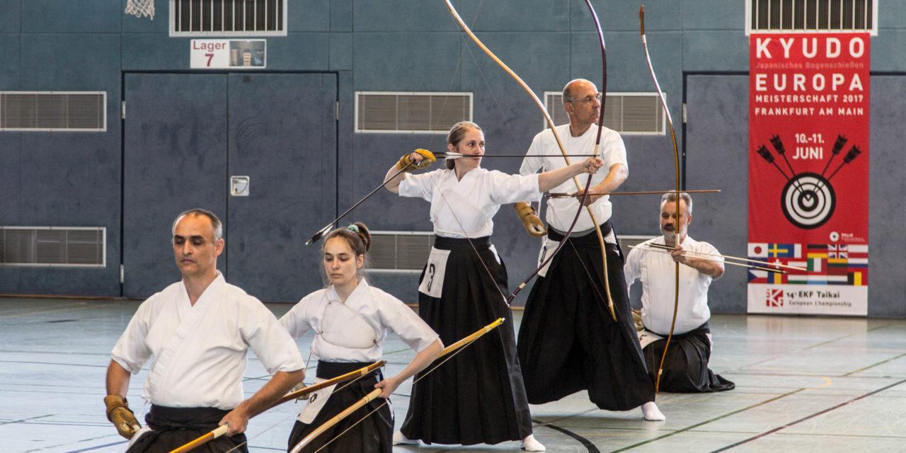 14. Kyudo Europameisterschaft in Frankfurt am Main