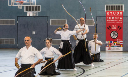 14. Kyudo Europameisterschaft in Frankfurt am Main