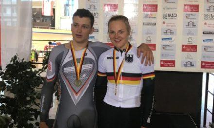 Erfolgreiche Deutsche Meisterschaften im Bahnradsport
