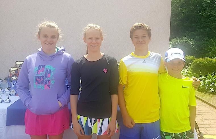 Tennis MV Kids glänzen in Hamburg