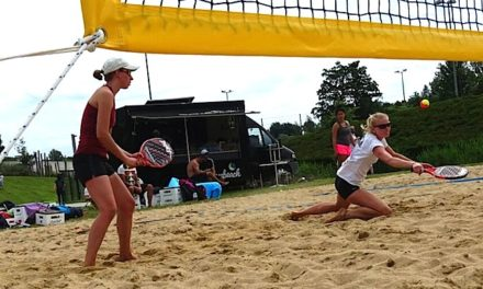 TMV Beach Tennis Teams sahnen in Hamburg ab