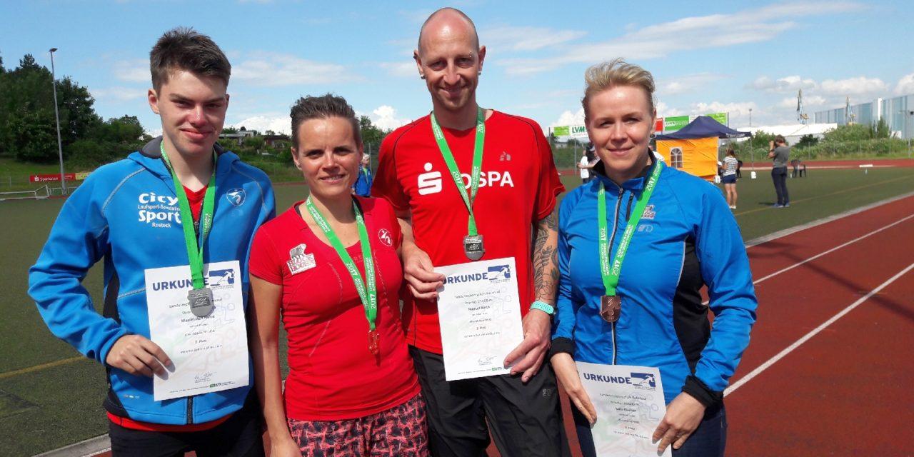 Landestitelkämpfe  im Bahnlauf – mit vier Medaillen für den SC Laage