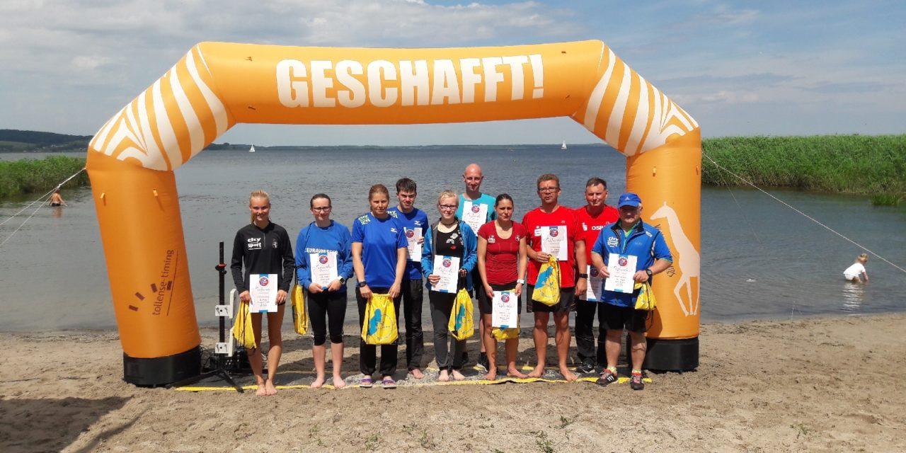20. Kummerower Seeschwimmen – auch für Läufer interessant