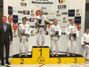 Annika Würfel bei den erfolgreichen DM in Herne. Foto: Dirk Spörcke, VfK Bau Rostock