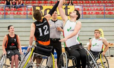 Meisterschale im Rollstuhlbasketball erfolgreich veteidigt