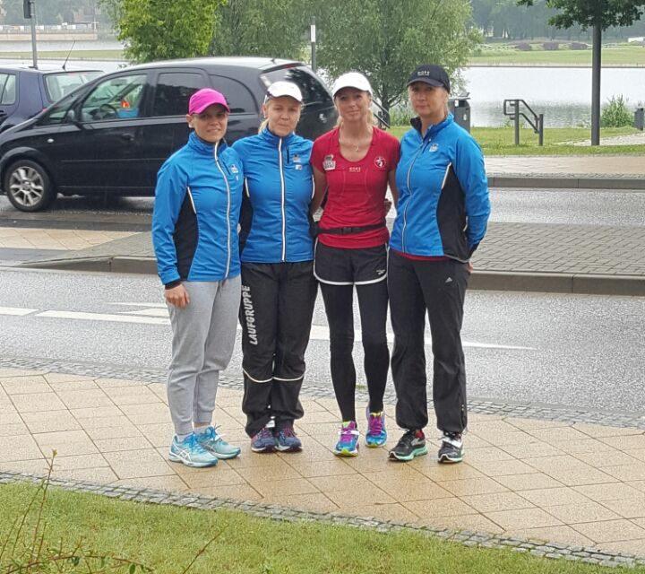Fünf-Seen-Lauf in Schwerin mit starken Laager Frauen