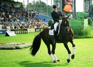 Die deutsche Erfolgsdressur-Reitsportlerin Isabell Werth. Foto: M. Michels