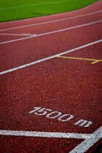 Leichtathletik Symbolfoto