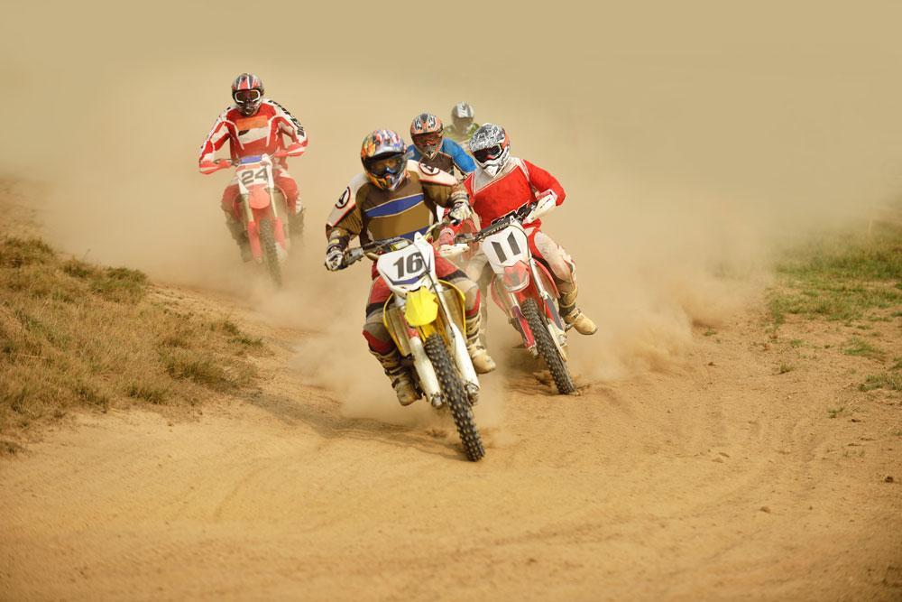 Motocross Symbolfoto