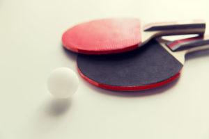 Tischtennis Symbolfoto