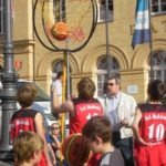 Blick zum Basketball in Rostock und der Welt