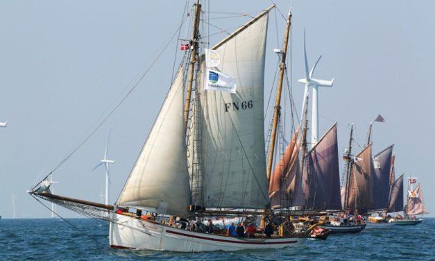 9.Haikutter-Regatta mit Teilnehmer-Rekord