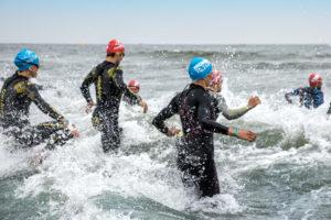 Triathlon-Schwimmstart