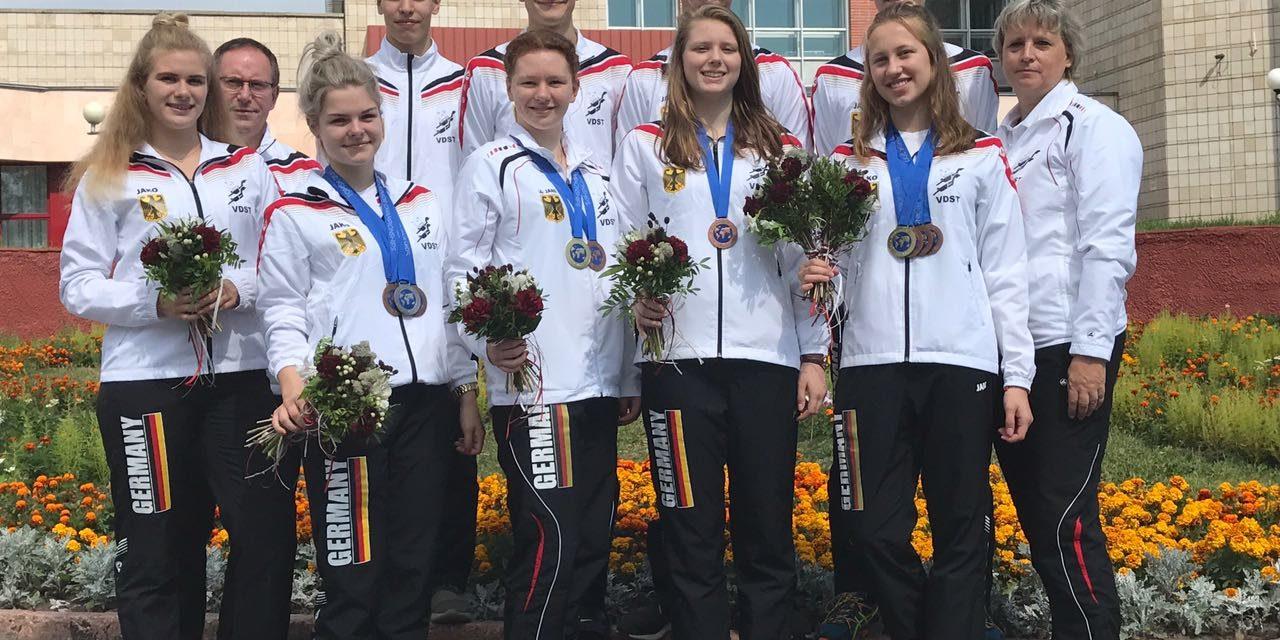 VDST-Finswimming-Nachwuchs erfolgreich wie nie bei Jugendweltmeisterschaften