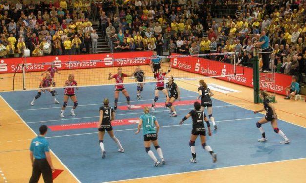 Das Volleyball-Land M-V darf jubeln: SSC-Mädel verteidigten Deutschen Meistertitel