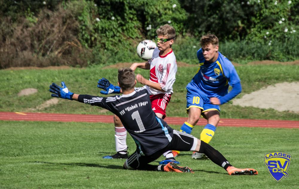 Laager SV 03 B-Junioren – 1. Spieltag | Landesliga