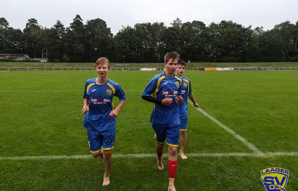 Laager SV 03 B-Junioren | 2. Spieltag | Landesliga
