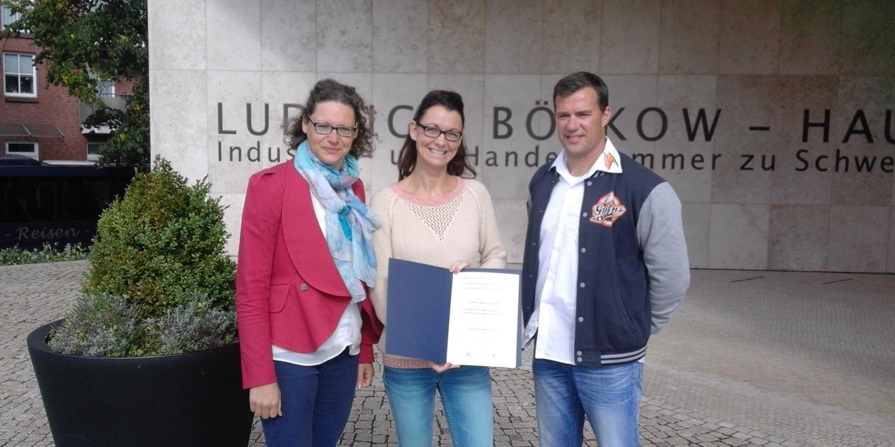 Rostock Griffins mit Preis für Präventionsarbeit geehrt