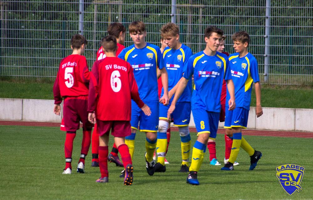 Laager SV B-Junioren   3. Spieltag   Landesliga