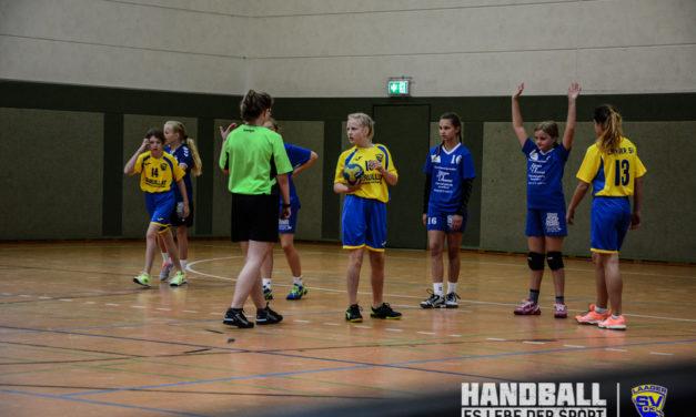 Laager SV – Erstes Spiel der weiblichen Jugend D