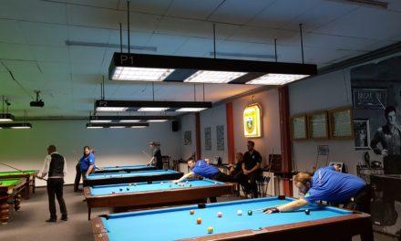 Holpriger Saisonstart beim 1. Billardclub Schwerin