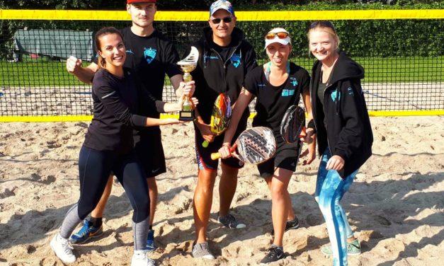 MV-Sharks holen Landesmeistertitel im Beach Tennis