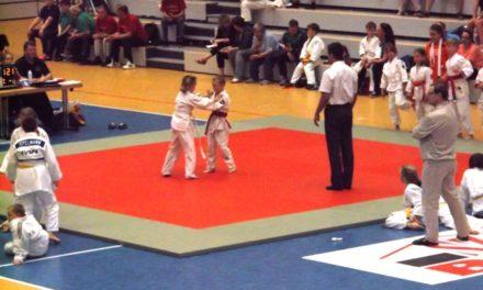 Weltmeisterliche Judoka in Budapest