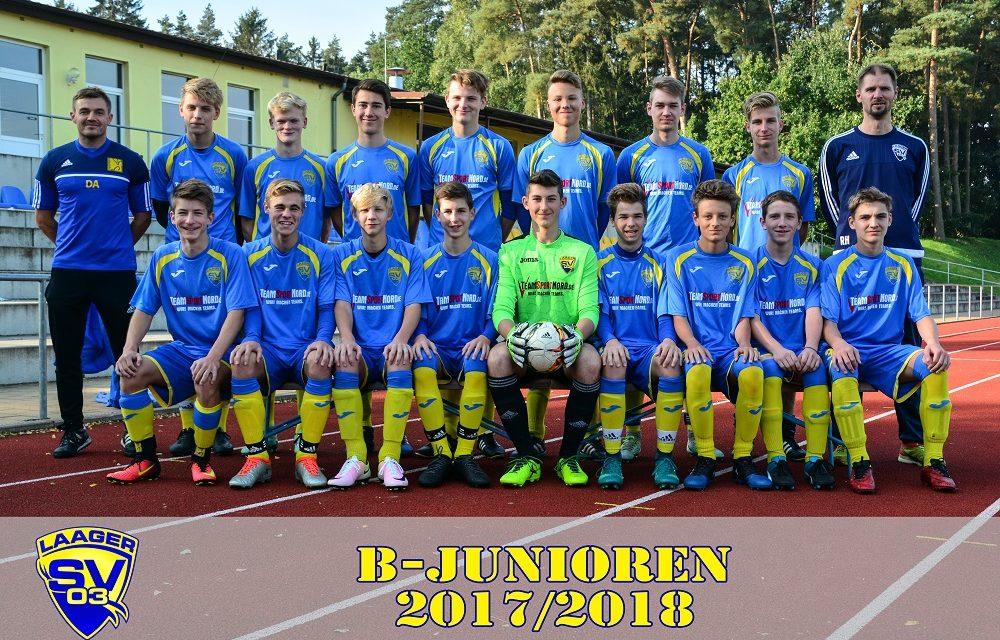 Laager SV 03 B-Junioren | 5. Spieltag | Landesliga
