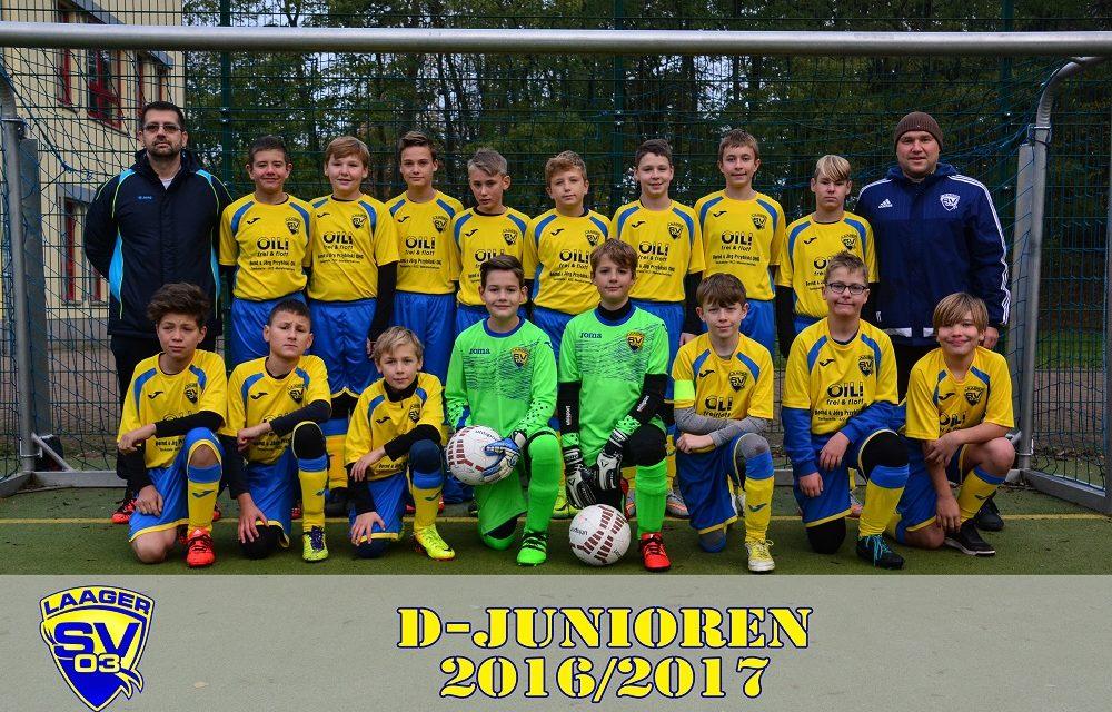 Laager SV 03 D-Junioren   1. Spieltag   Kreisliga