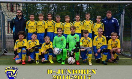 Laager SV 03 D-Junioren | 1. Spieltag | Kreisliga