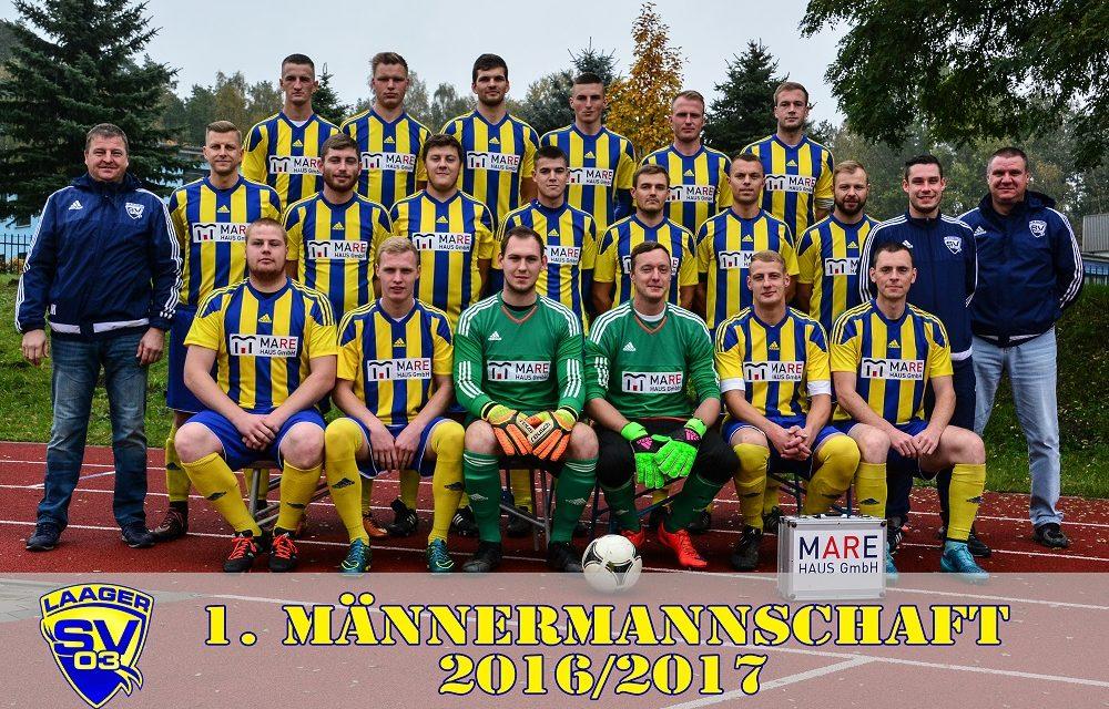 Laager SV 03 1. Männermannschaft | 8. Spieltag | Landesklasse